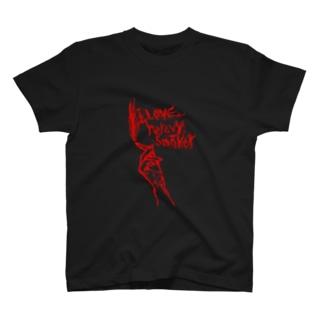ヘビースモーカー(赤) T-shirts