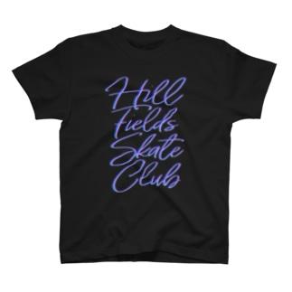 Hill Fields Skate Club Neon Tシャツ