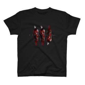敷かれたレール T-shirts