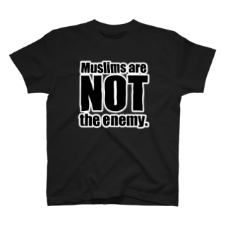 tagteeのMuslims are NOT the enemy. T-shirts
