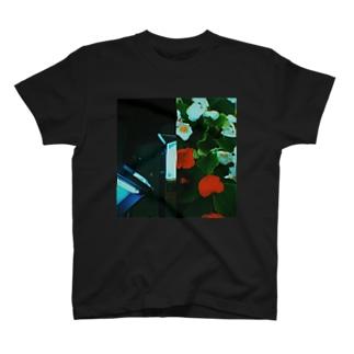 ハンブンコ「都×花」 T-shirts