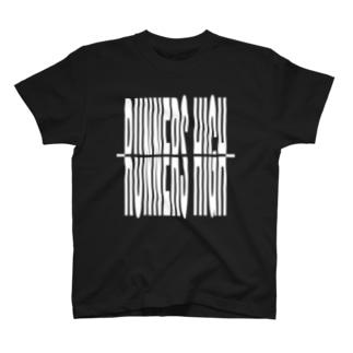 RUNNERS HIGH[デジタル]白.ver シリーズ T-shirts