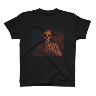 骸骨Tシャツ T-shirts