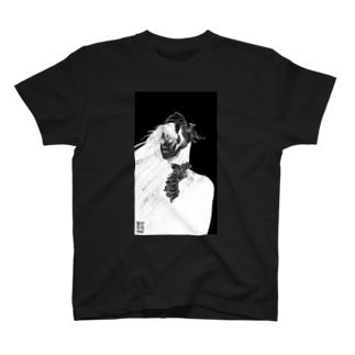 Moment of Hesitation_black T-shirts