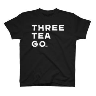 THREE TEA GO T-shirts