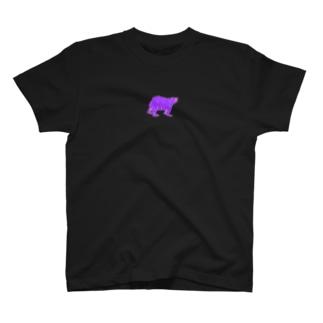 変色クマ T-shirts
