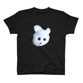 くまきちフェイス T-shirts
