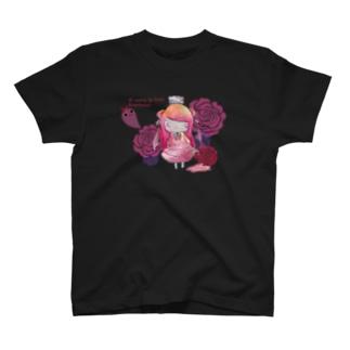 【yamikawaii系女子】ピンクちゃん(仮) T-shirts