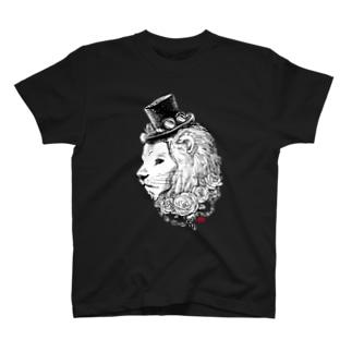 ライオン伯爵 T-shirts