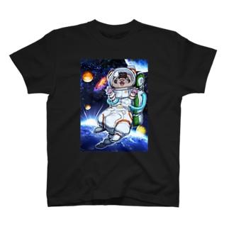 チャリティグッズ*宇宙フェレットちゃん♪ T-shirts