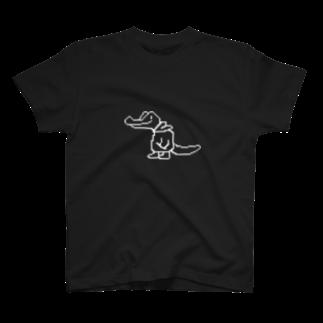 ワニのヤカ YACA IN DA HOUSEのAuto Saveのヤカ T-shirts