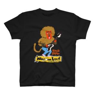 Nicoyan LandのRock Papio T-shirts