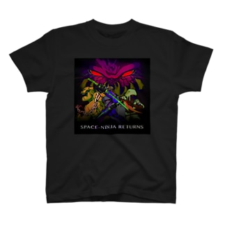 SPACE-NINJA RETURNS T-shirts
