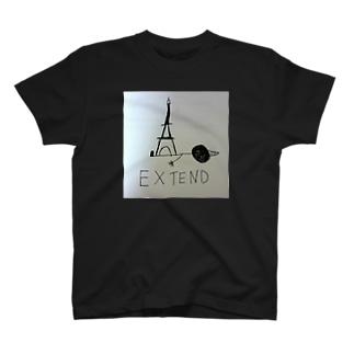 EXTEND ホワイト T-shirts