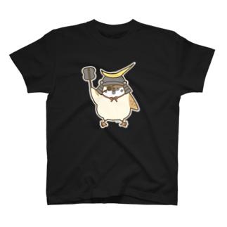 伊達政宗すずめさん T-shirts