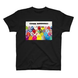 おめざめくん(集合) T-shirts