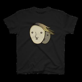 ヘッヂハッグベッドルームの【ん・・・・・?】 T-shirts