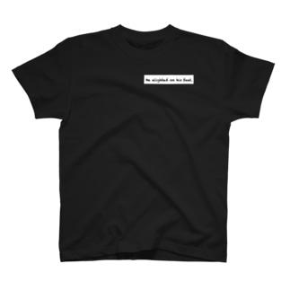 断崖絶壁から T-shirts