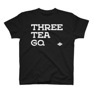 THREE TEA GO.&WARD #5 T-shirts