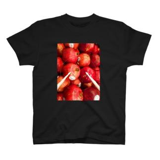 ドラムスティックざくろ T-shirts