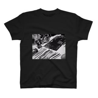 ライブペイント 画材 T-shirts