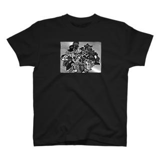 UNDER WOLVESフォト コーチジャケット T-shirts