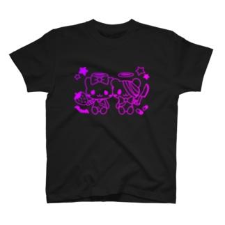 病みホリ猫熊 T-shirts