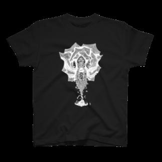 イトスク の攻防の裡(W) T-shirts
