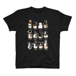 とーとつにエジプト神 12柱 T-shirts
