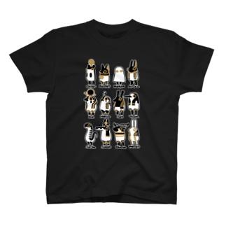 とーとつにエジプト神 12柱 名前つき T-shirts