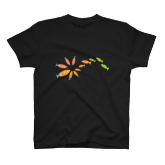おさかな4 T-shirts