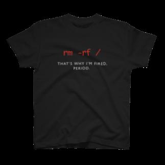 rm -rf / グッズ売り場のrm -rf / T-shirts