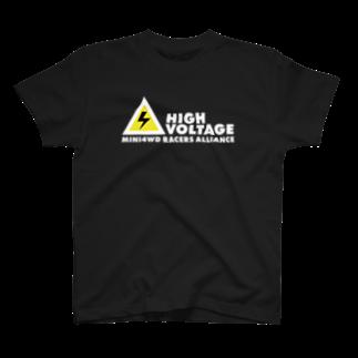ミサ⚠️イルのTシャツ黒ベース T-shirts