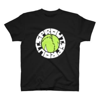 芽キャベツ(暗色) T-shirts