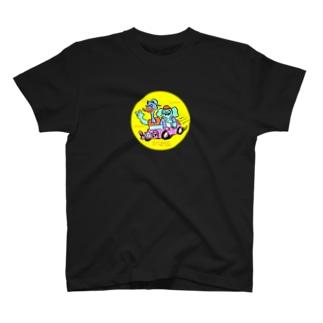 オストリッチ君とエレファント君 T-shirts