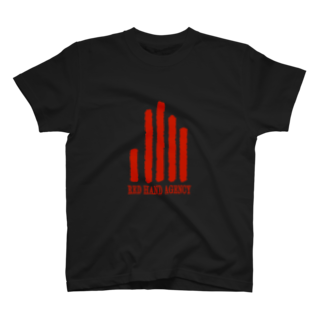 yada, yada, yada...のREDHANDAGENCYロゴ T-shirts