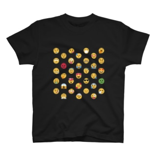 😍 絵文字 顔文字フレンズ 😂 T-shirts