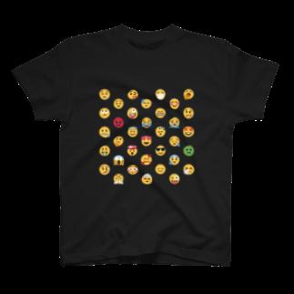 EMOJITOKYOの😍 絵文字 顔文字フレンズ 😂 T-shirts