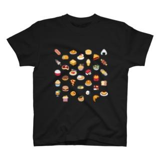 🍣 絵文字 食いしんぼうスペシャル 🍛 T-shirts