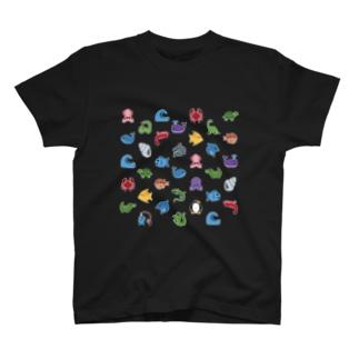 🐟 絵文字 おさかな天国 🐳 T-shirts