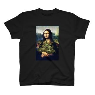 モナリザとマリファナ T-shirts