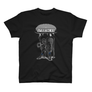 spartacus 1-#1 (white ink) T-shirts