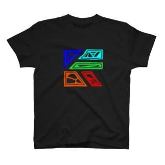 5色シンプル(仮) T-shirts