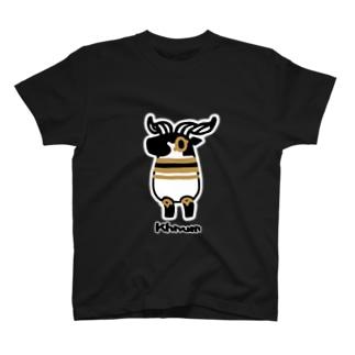 とーとつにエジプト神 クヌム T-shirts