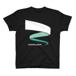 オーロラ02 T-shirts