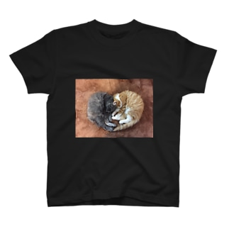 @suzukotegin   そうすけ&はな ハート T-shirts