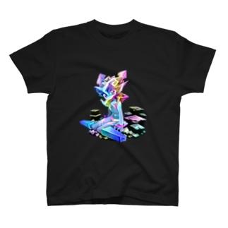 ビスマス結晶の精霊Auro T-shirts