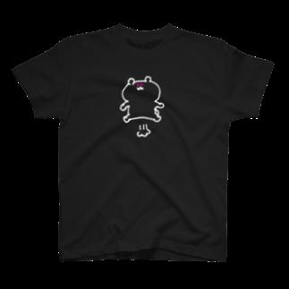 おみそしるのとぶくまちゃん(しろぬき) T-shirts