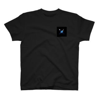 武器ロゴ/大(刀・槍) T-shirts