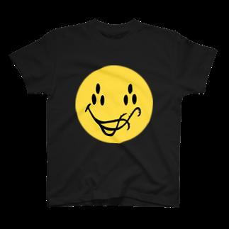 hassegawaのSmiling Cthulhu T-shirts